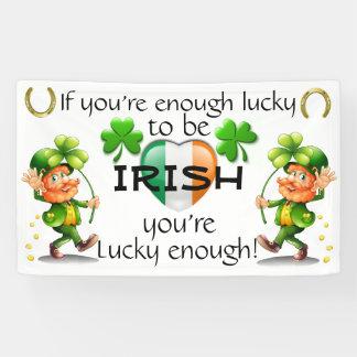 Het Decor van het Iers/van de Bar/de Dag van Spandoek
