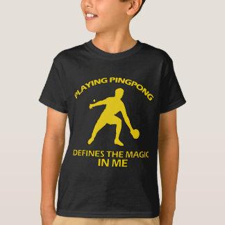 Het DESIGN van de pingpong T Shirt