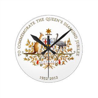 Het diamanten jubileum van de Koningin - Australië Ronde Klok