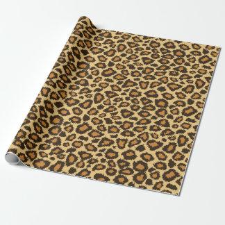 Het Dierlijke Patroon van de Huid van de luipaard Cadeaupapier