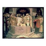 Het doopsel van Grote Hertog Vladimir, 1885-96 Wenskaarten