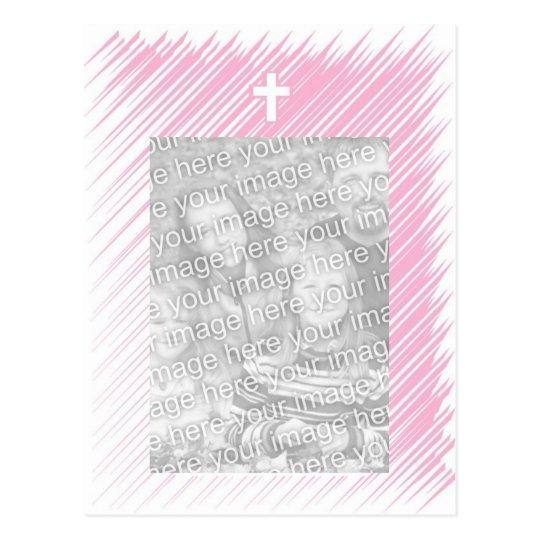 Het dopen/van het Doopsel Uitnodiging (Meisje) Briefkaart