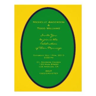 Het eenvoudige Groene Huwelijk van de Cirkel Persoonlijke Folder