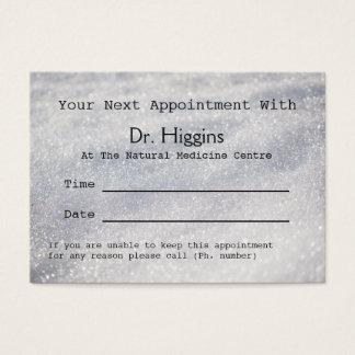 Het fonkelen de Medische Tandenz. Benoeming van de Visitekaartjes
