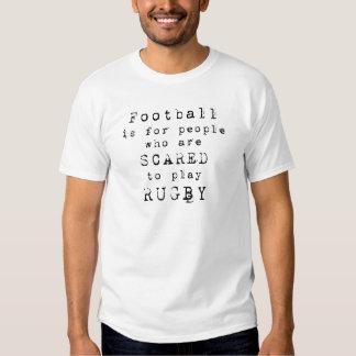 Het Football Type.png van het rugby Shirts