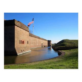 Het fort en de Vlag Briefkaart