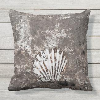 Het Fossiele Hoofdkussen van Shell van de Buitenkussen