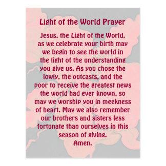 Het gebed van Kerstmis Briefkaart