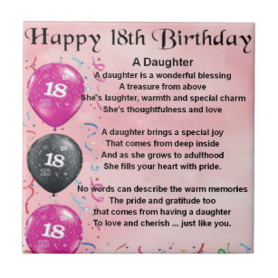 dochter 18 jaar Gedicht Verjaardag Dochter 18 Jaar   ARCHIDEV dochter 18 jaar