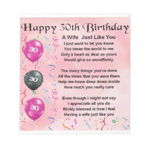 30 Jaar Verjaardag Vrouw