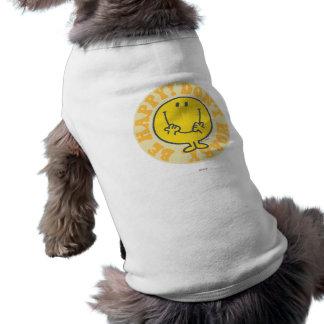 Het Gelukkige Motto van M. Happy's T-shirt