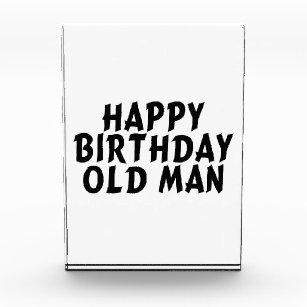 Gelukkig Verjaardags Oud Man Kantoor En Schoolbenodigdheden Zazzle Be