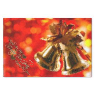 Het gelukkige Servet van het Nieuwjaar Tissuepapier
