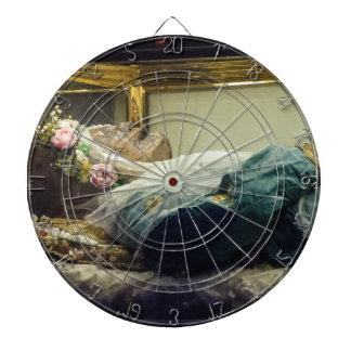 Het gemummificeerde Lichaam van Heilige Zita Sitha Dartbord