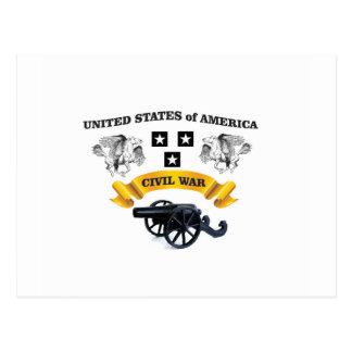 het gevleugelde paard cw van Verenigde Staten Briefkaart