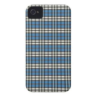 Het Gewaagde (blauw/zwarte) Hoesje van Blackberry