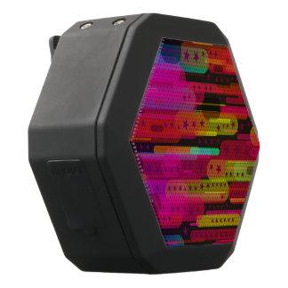 Het glijdende Abstracte Patroon van de Ster Zwarte Bluetooth Speaker