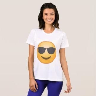 Het glimlachen van Zonnebril Emoji T Shirt