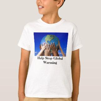 Het Globale Verwarmen van het Einde van de hulp T Shirt