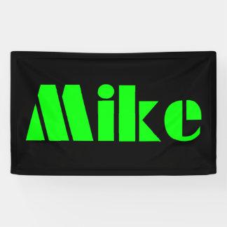 Het Gokken van Mike van de banner v.s
