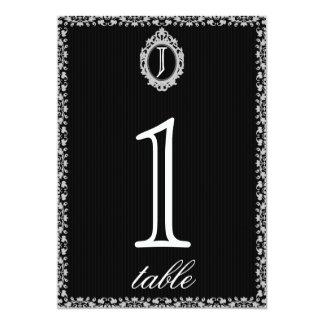 Het gotische Aantal van de Lijst van het Jubileum 12,7x17,8 Uitnodiging Kaart