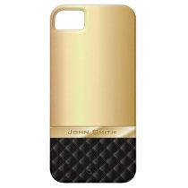 Het Goud van de luxe met iPhone 5 van de Naam van