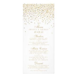 Het gouden Collectie van het Huwelijk van Reclamekaart