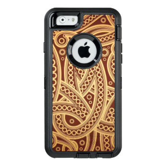 Het gouden Hoesje van Otterbox van iPhone van de