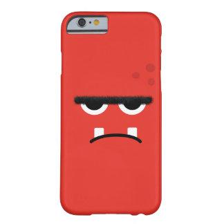 Het grappige Rode Gezicht van het Monster Barely There iPhone 6 Hoesje