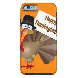 Het grappige spreuk van Turkije: '' Gelukkige Tough iPhone 6 Hoesje