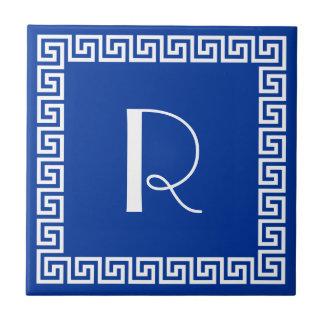 Het Griekse Zeer belangrijke Monogram van het Tegeltje