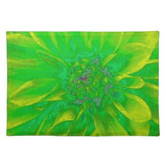 Het groene BloemenPatroon van de Bloem van de Onderleggers