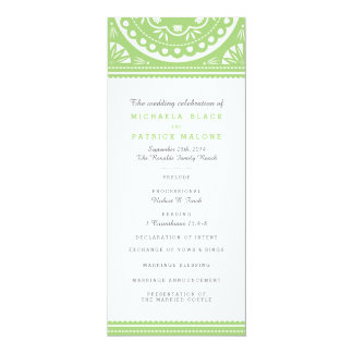 Het Groene Programma van het Huwelijk van Picado