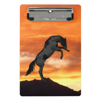Het grootbrengen het MiniKlembord van het Paard Mini Klembord