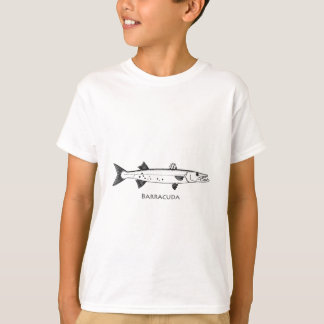 Het grote Logo van de Barracuda T Shirt