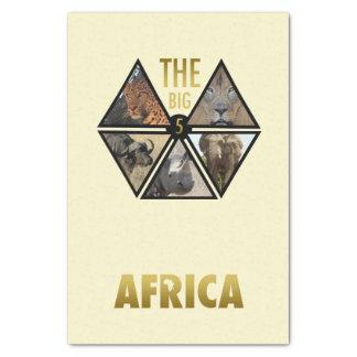 Het grote Papieren zakdoekje van Vijf Afrika Tissuepapier