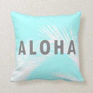 Het Hawaiiaanse Grijze Blauw van de Palmen van de Sierkussen