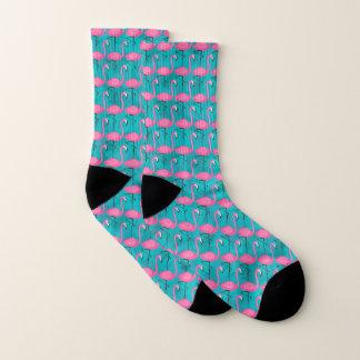 Het heldere Patroon van de Flamingo Sokken