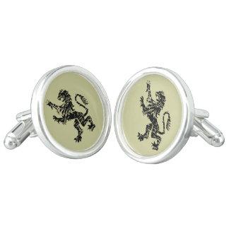 Het heraldische Paar van Leeuwen Cufflinks Manchetknopen
