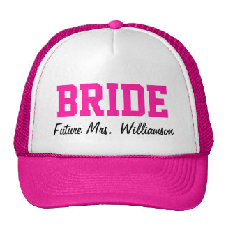 Het hete Roze Pet van de Bruid