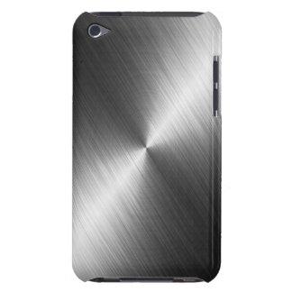 Het Hoesje van de Textuur van het chroom iPod