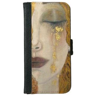 Het Hoesje van Gustav Klimt Woman Crying Wallet