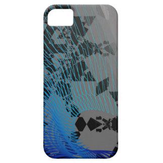 Het Hoesje van het Patroon van de golf Barely There iPhone 5 Hoesje