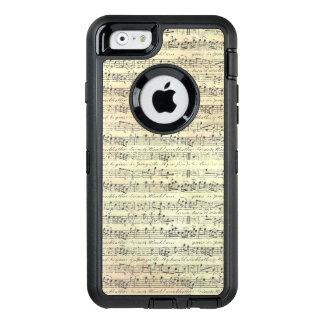 Het Hoesje van iPhone6/6s Otterbox van de Muziek