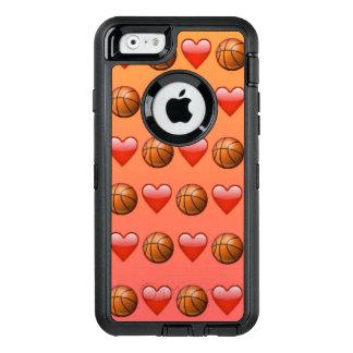 Het Hoesje van iPhone6/6s Otterbox van Emoji van