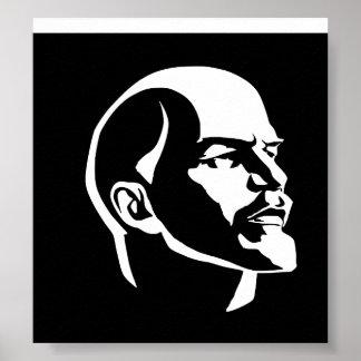 Het Hoofd van Lenin Poster