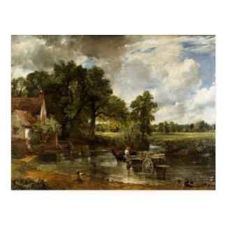 Het Hooi Wain van John Constable Briefkaart