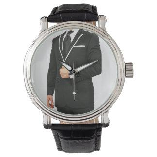 Het Horloge van het kostuum en van het Stropdas