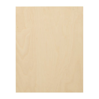 Het Houten Canvas van de douane 11x14