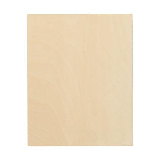 Het Houten Canvas van de douane 8x10
